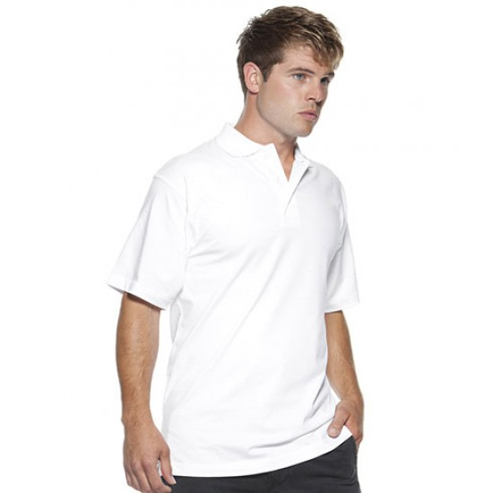 Personalised Cotton Jersey Knit Polo Shirt K402 Kustom Kit 210 GSM