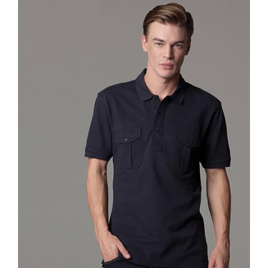 Personalised Pocket Polo Shirt K633 Kustom Kit 210 GSM