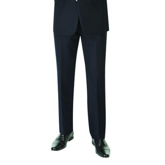 Personalised Madrid Flat Fronted Trousers CP86 Skopes 390 GSM