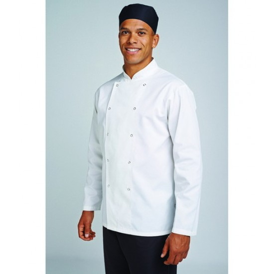 Personalised Long Sleeve Chef's Jacket AF001 AFD 200 GSM