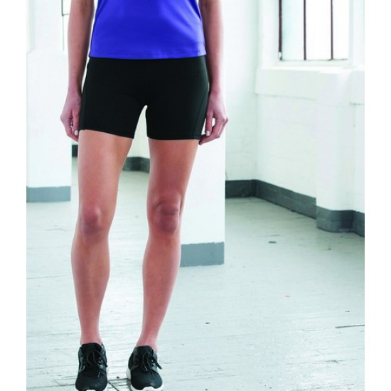 Personalised Girlie Training Shorts JC088 AWDis 280 GSM