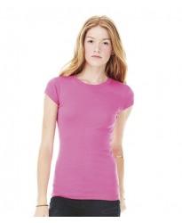 Personalised Sheer Rib Longer Length T-Shirt BL8701 Bella 135 GSM
