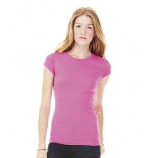 Personalised Sheer Rib Longer Length T-Shirt BL8701 Bella 135 GSM