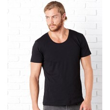 Personalised Wide Neck T-Shirt CV3406 Canvas 125 GSM