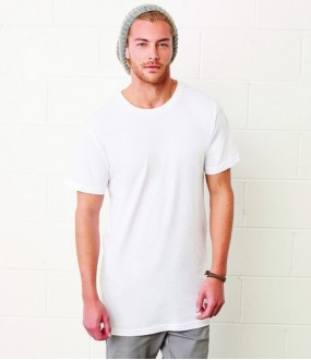 Personalised Long Body Urban T-Shirt CV3006 Canvas 142 GSM