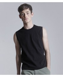 Personalised T-Shirt SF105 Modern Sleeveless Skinnifitmen 190 GSM