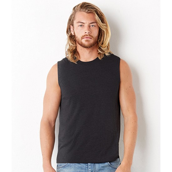Personalised Muscle Tank CV3483 Jersey Canvas 142 GSM