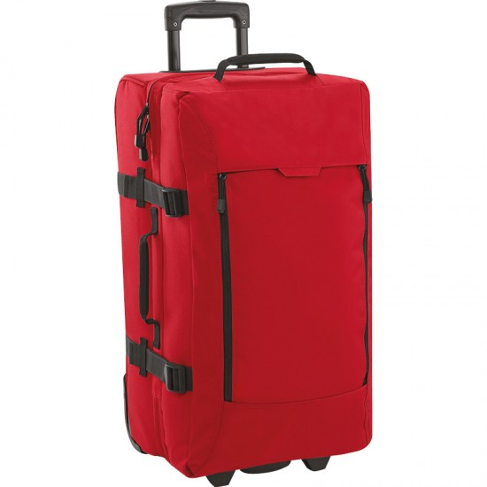Personalised Medium Wheelie BG462 Escape Dual-Layer BagBase