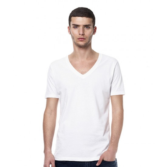 Personalised T-Shirt EP03V Men'S Organic V-Neck Continental