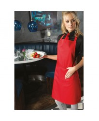 Personalised Pocket PR154 Bib Apron with Premier 195 GSM