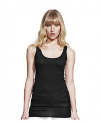 Personalised Tank N39 Women'S Extra-Fine Jersey Tunic Continental