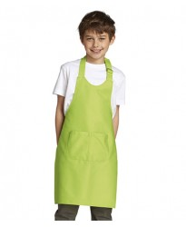 Personalised Apron 10599 Kids Gala Long Bib SOLS 240 GSM