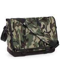 Personalised Bag BG171 Camo Messenger BagBase