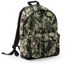 Personalised Backpack BG175 Camo BagBase
