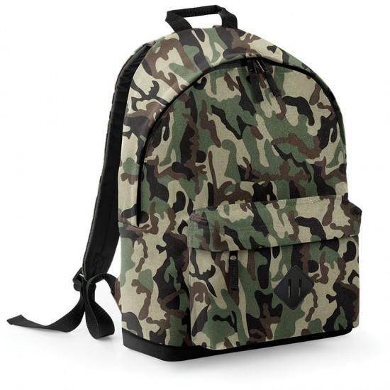 Personalised Backpack BG175 Camo BagBase