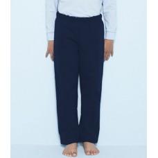 Personalised Jog Pants GD65B Heavy Blend Kids Open Hem Gildan 279 GSM