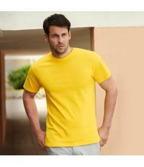 Personalised tee Heavy cotton Fruit of the Loom  White 185gsm, Colours 195 GSM