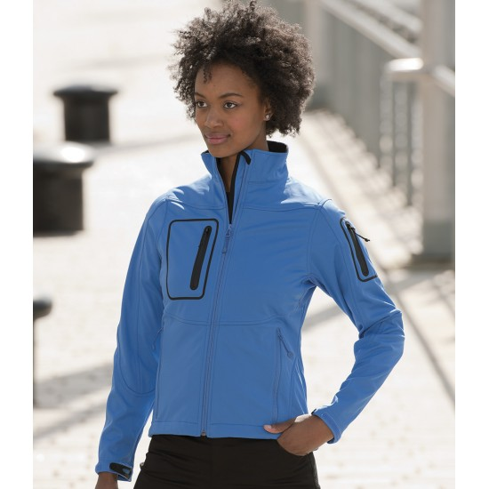 Personalised 5000 Jacket 520F Ladies Sports Shell Russell