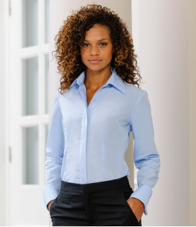 Personalised Corporate Shirt 952F Ladies Tencel Russell 130 GSM