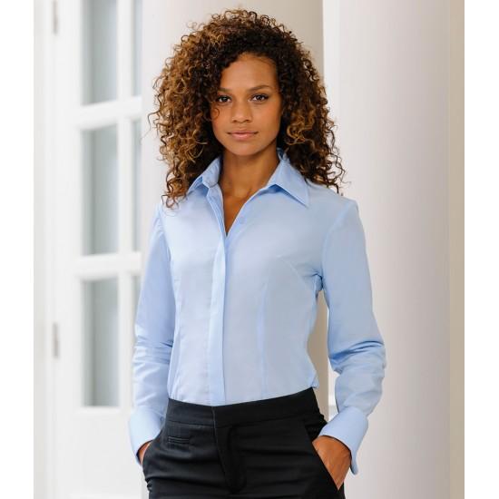 Personalised Corporate Shirt 952F Ladies Tencel Russell 130 GSM