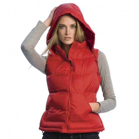 Personalised Bodywarmer BA670 Ladies Zen+ B&C  GSM