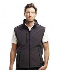 Personalised Bodywarmer RG189 Sandstorm Soft Shell Regatta