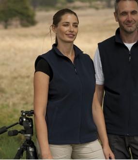 Personalised Bodywarmer RG116 Ladies Micro Fleece Regatta 210 GSM