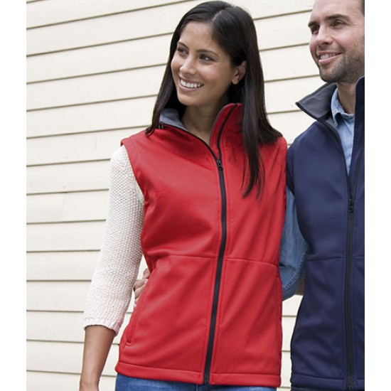 Personalised Bodywarmer RS214 Soft Shell Result