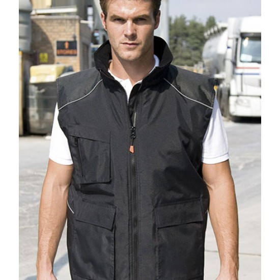 Personalised Bodywarmer RS306 Vostex Result