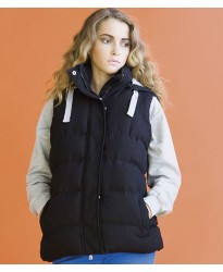 Personalised Gilet SK29 Ladies Padded Skinnifit