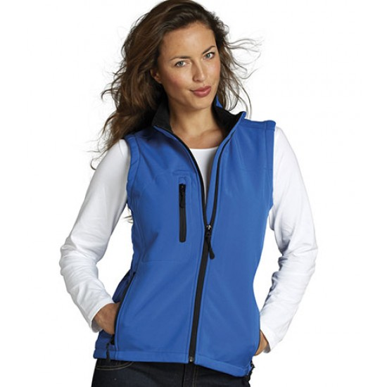 Personalised Bodywarmer 46801 Ladies Rallye Soft Shell SOL'S
