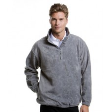 Personalised Fleece K901 Grizzly Zip Neck Kustom Kit 300 GSM