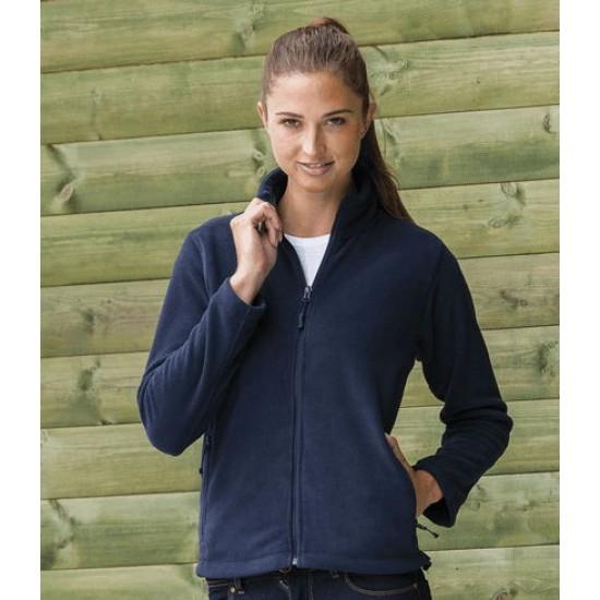 Personalised Outdoor Fleece 870F Ladies Russell 320 GSM