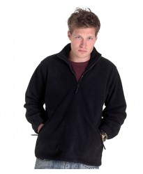 Personalised Micro Fleece Jacket UC602 Premium 1/4 Zip Uneek 380 GSM