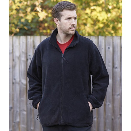 Personalised Fleece Jacket PW171 Argyll Heavy Portwest 400 GSM