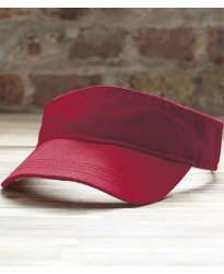 Personalised Twill Sun Visor AV703 Low Profile Anvil
