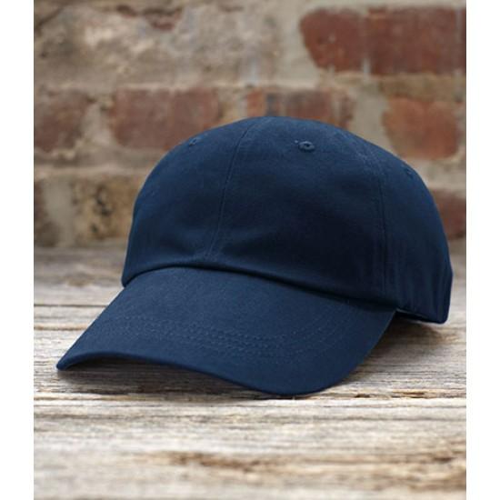 Personalised Twill Cap AV705 Low Profile Brushed Anvil