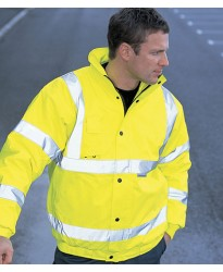 Personalised Jacket WD040 Hi-Vis Bomber Dickies