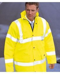 Personalised Safety Jacket WD041 Hi-Vis Motorway Dickies