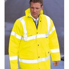 Personalised Safety Jacket WD041 Hi-Vis Motorway Dickies