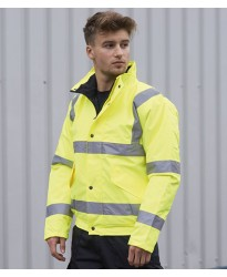 Personalised Jacket PW001 Hi-Vis Bomber Portwest