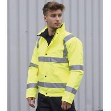 Personalised Jacket PW001 Hi-Vis Bomber Portwest