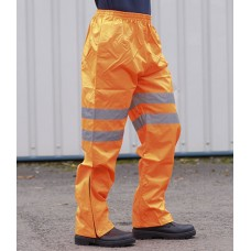 Personalised Trousers PW022 Hi-Vis Traffic Portwest