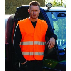 Personalised Two Band Vest PW309 Hi-Vis Portwest