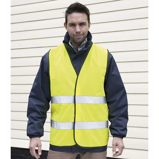Personalised Safety Vest RS200 Motorist Hi-Vis Result