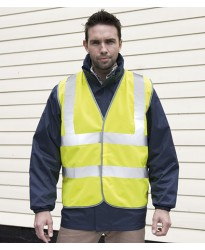 Personalised Motorway Vest RS201M Hi-Vis Result