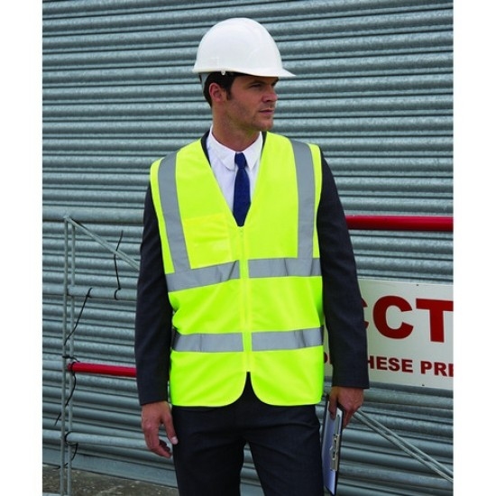 Personalised Tabard RS202 Zip Safety Result