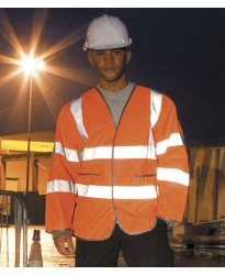 Personalised Hi-Vis Safety Jacket RS210 Lightweight Motorway Result