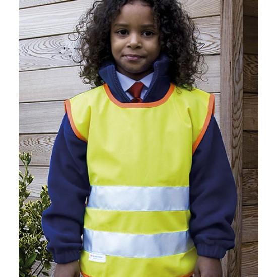 Personalised Hi-Vis Tabard RS212B Kids Safeguard Result