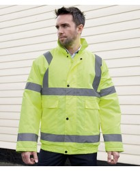 Personalised Winter Blouson Jacket RS217 Hi-Vis Result